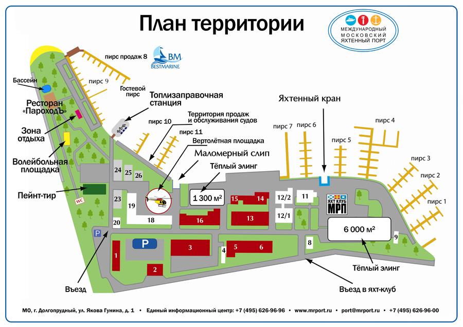 План территории